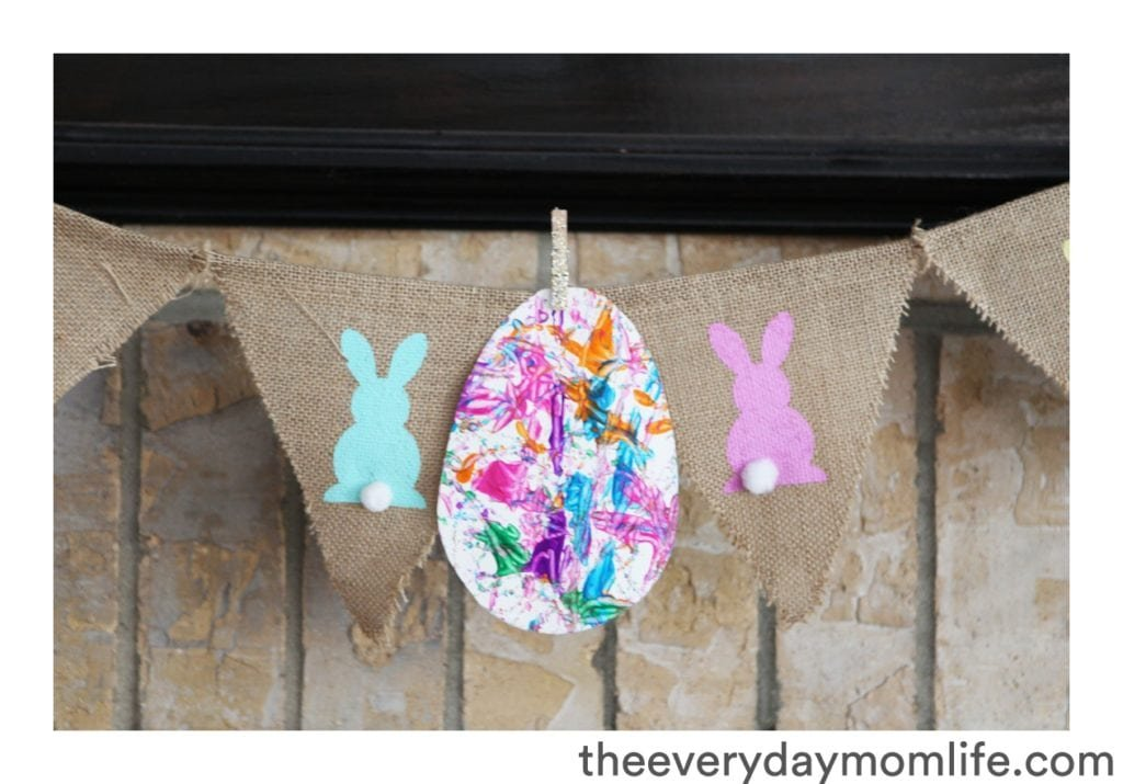 marble easter egg craft - The everyday mom life