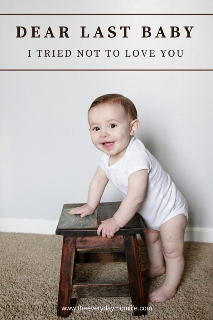 I tried not to love you baby I tried not to love you - The Everyday Mom Life
