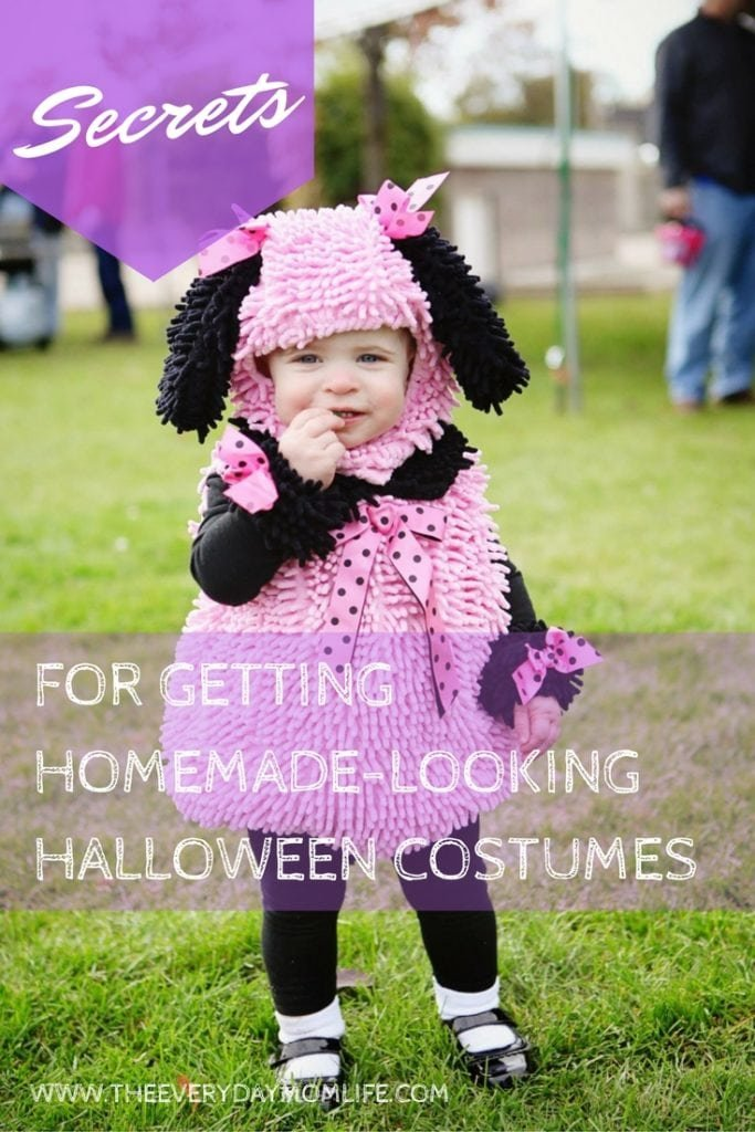homemade looking Halloween Costumes - The everyday Mom life