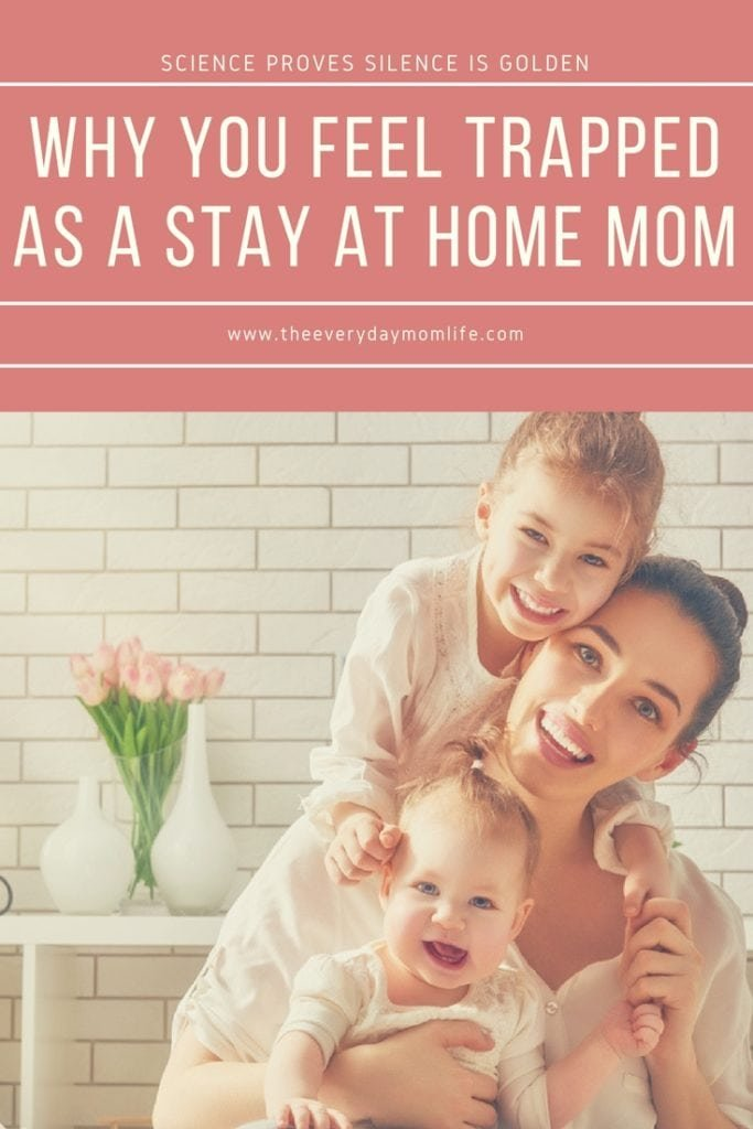 feeling trapped as a mom - The Everyday Mom Life