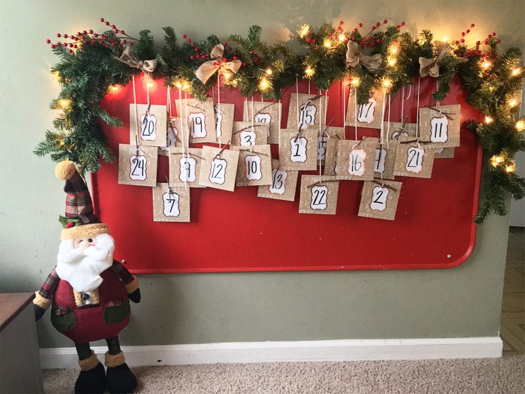advent calendar ideas - The Everyday Mom Life