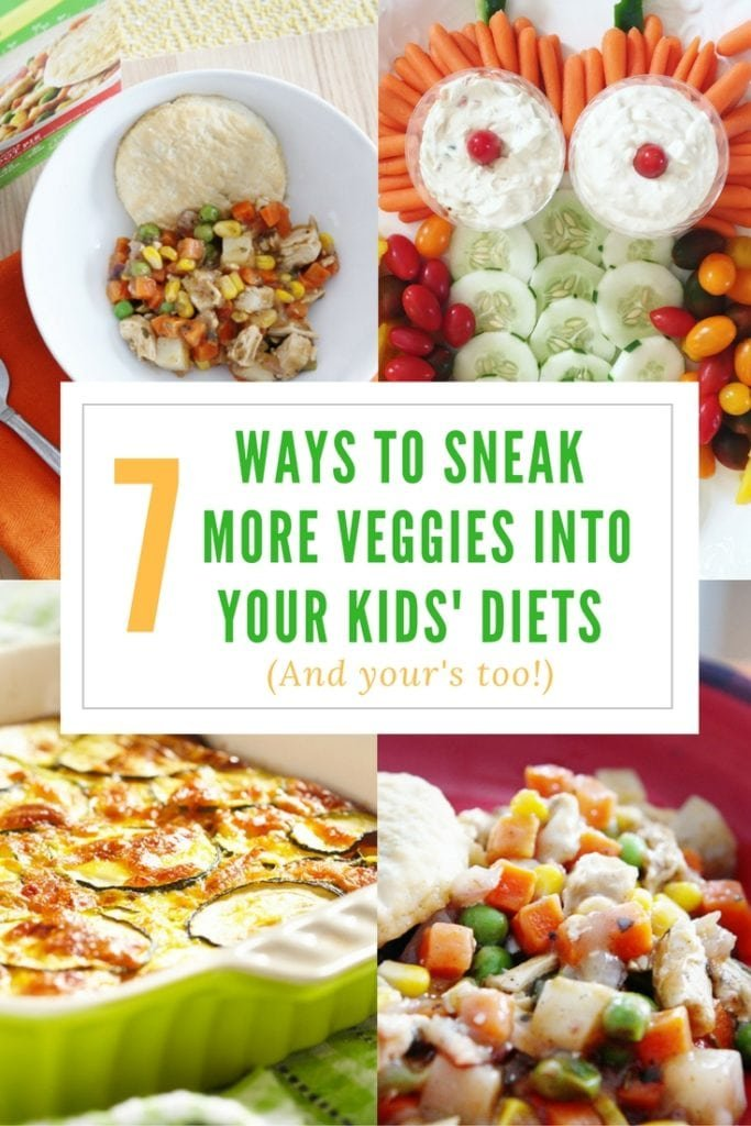 more veggies into your kids' diets - The everyday mom life