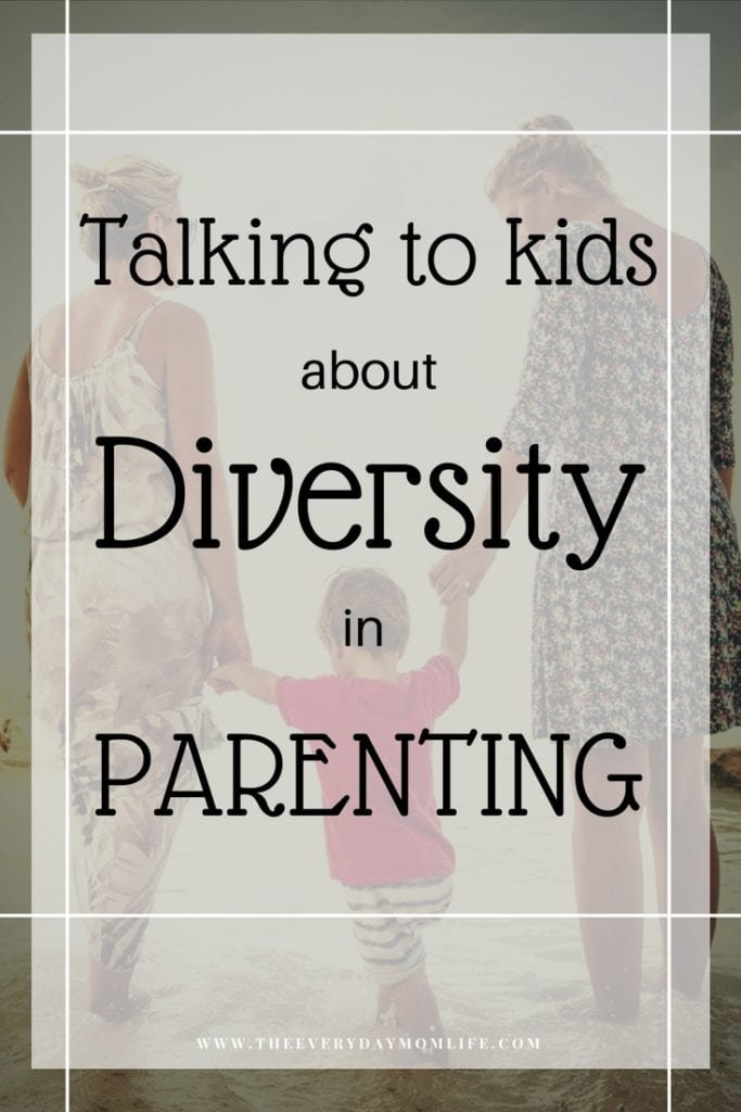 talking to kids about diversity in parenting - The Everyday Mom Life
