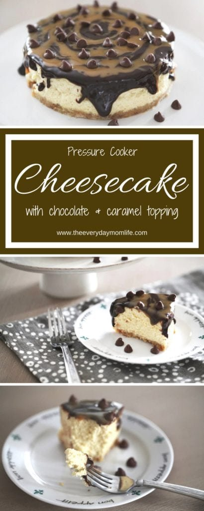 pressure cooker cheesecake - The everyday mom life