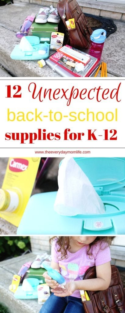 Unexpected Back-to-school supplies for K-12 - The Everyday Mom Life