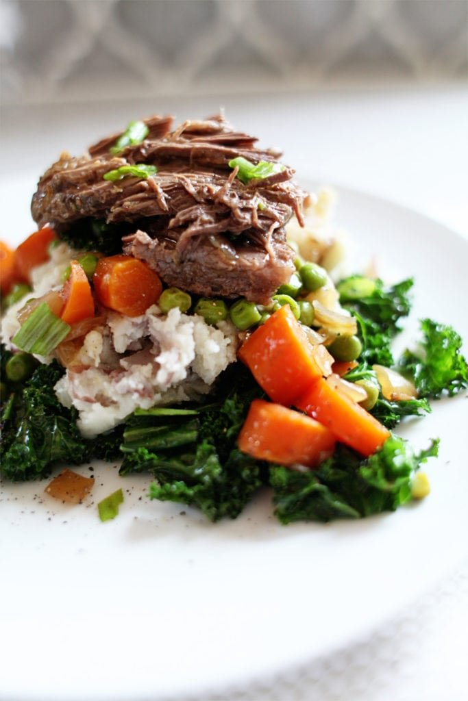 slow cooker pot roast - The everyday mom life