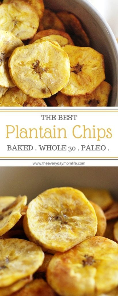 baked plantain chips - The everyday mom life