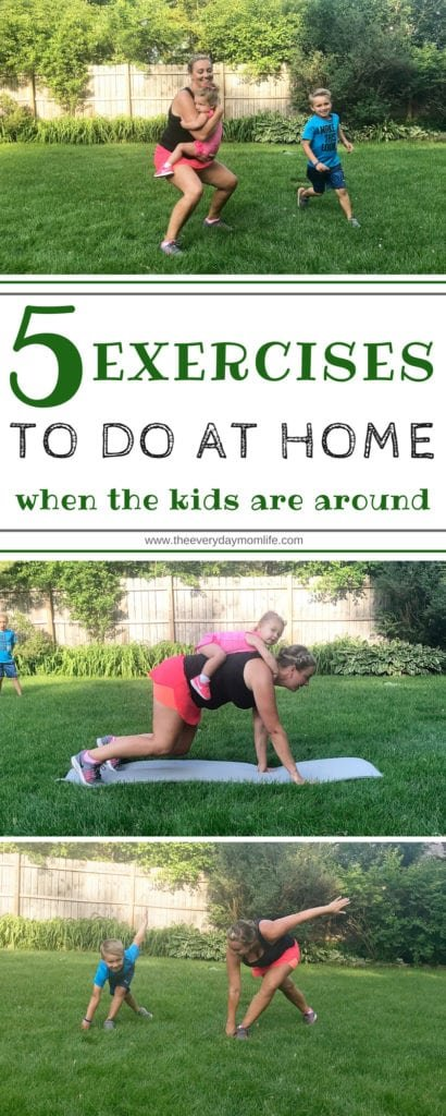 exercises to do at home - The Everyday Mom Life