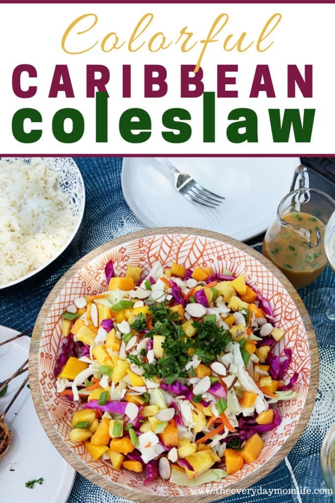 Caribbean Coleslaw Recipe - The Everyday Mom Life