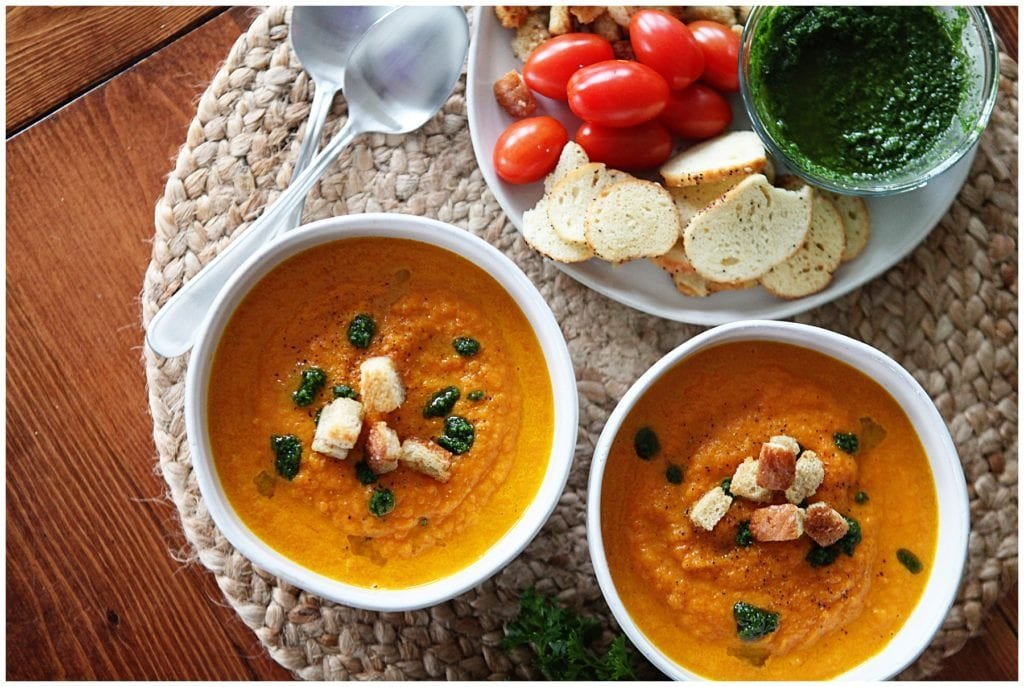carrot soup - The Everyday Mom Life