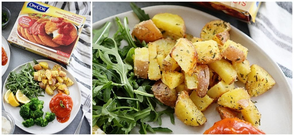 Garlic Parmesan Roasted Red Potatoes