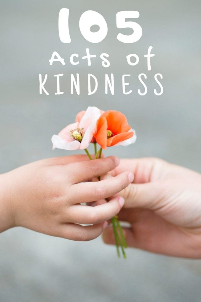 105 Acts of Kindness