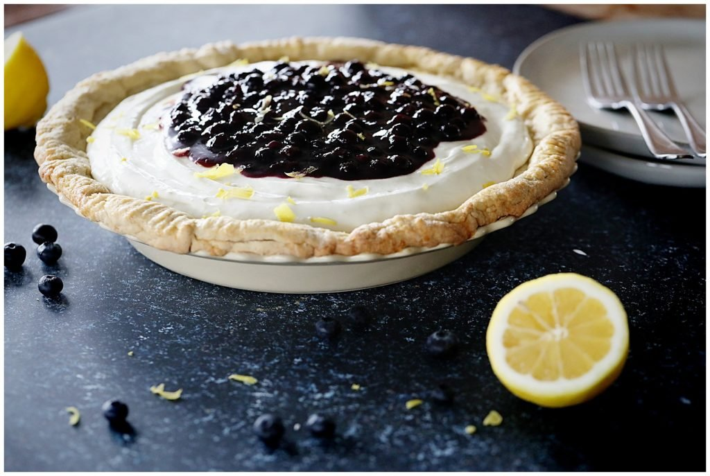 Lemon Blueberry Pie