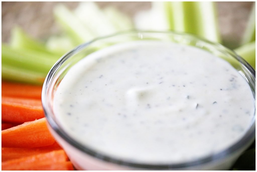 Homemade ranch dressing recipe with Greek yogurt
