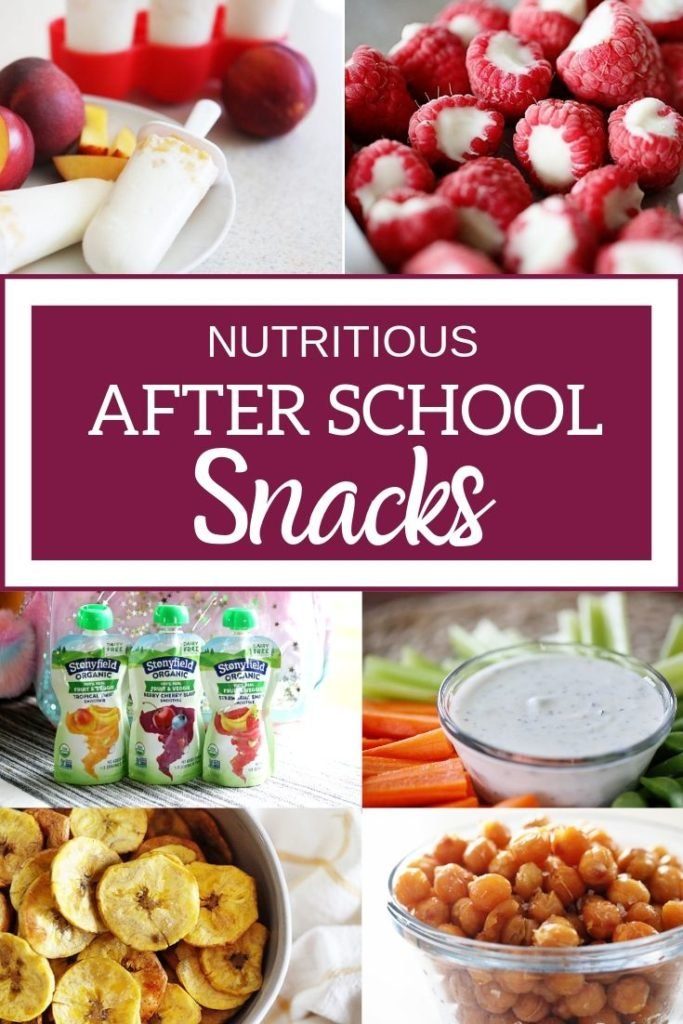 10 Nutritious After School Snacks