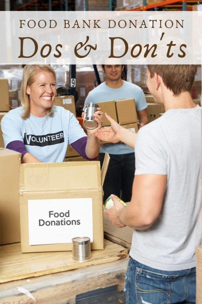 Dos and Don'ts for Donating to Food Banks