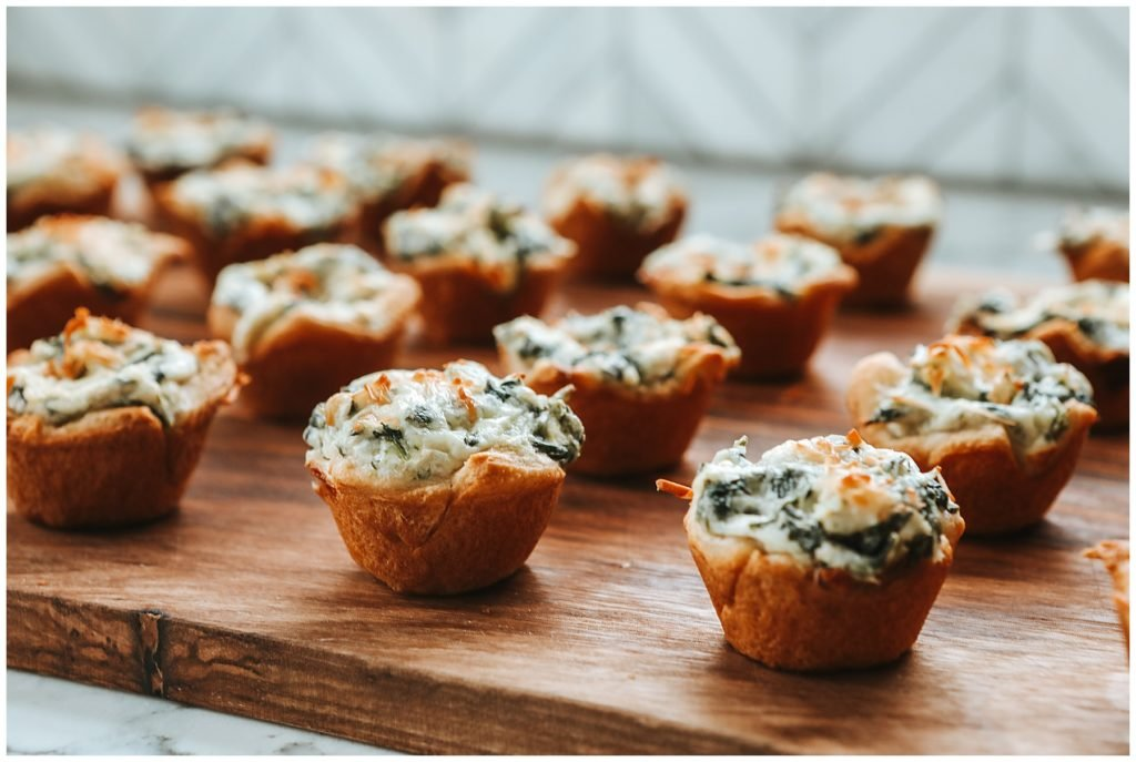 Spinach and Artichoke Dip Cups