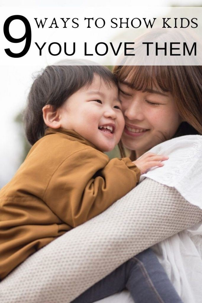 How to show your children you love them