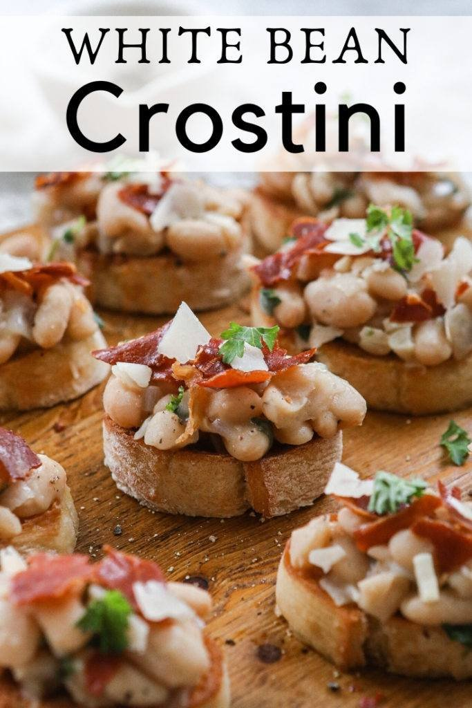 White Bean Crostini